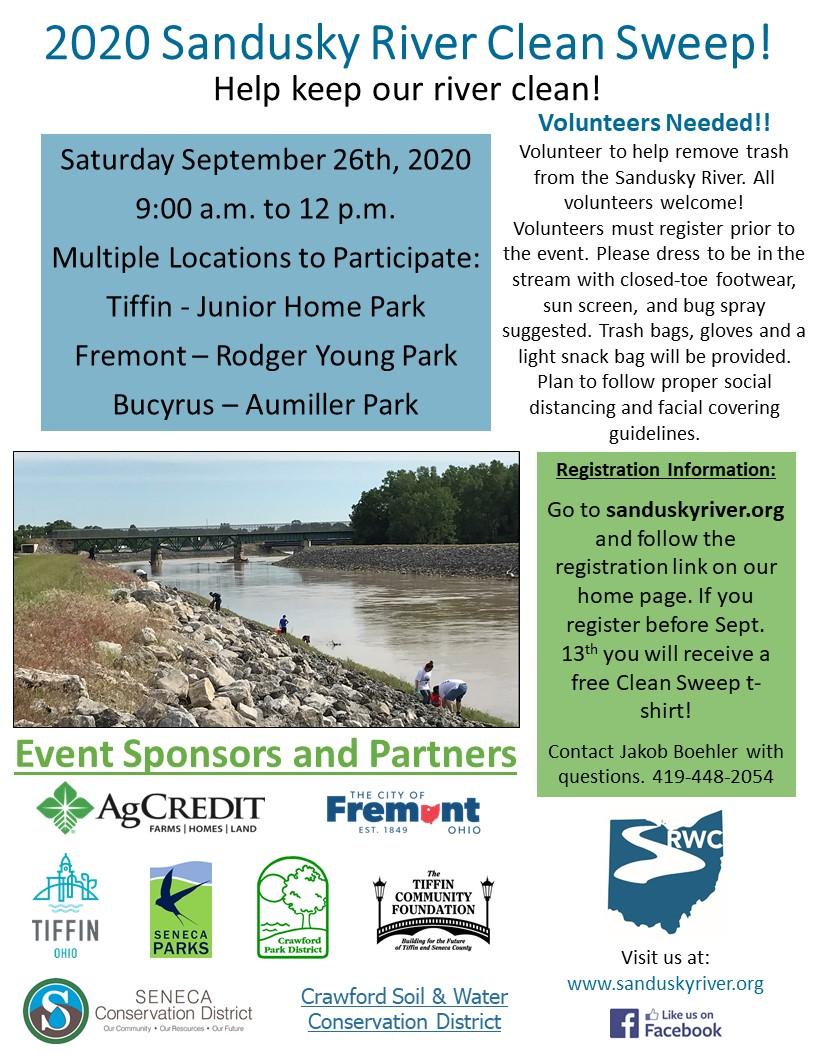 2020 Sandusky River Clean Sweep Flyer