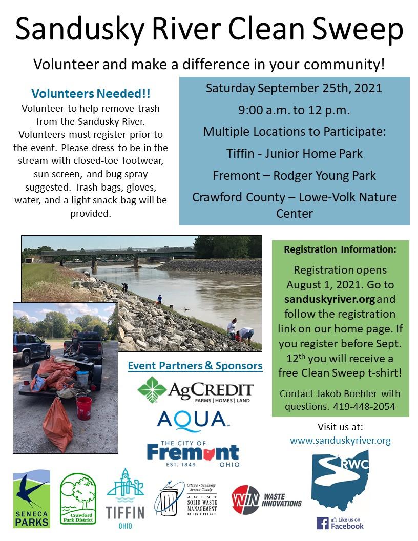 Sandusky River Clean Sweep Flyer 2021